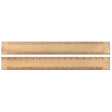 30cmm Wooden Scale Ruler