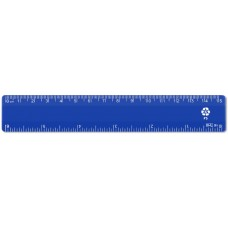 "6"" / 15cm Blue Recycled Plastic Ruler"