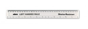 Left Handed Rulers - How to find the perfect measuring tool for you
