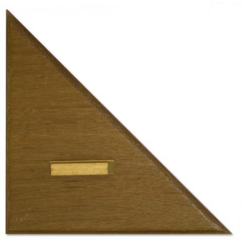 45 Degree Wooden Blackboard Set Square