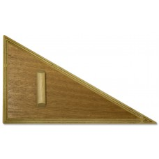 60 Degree Wooden Set Square