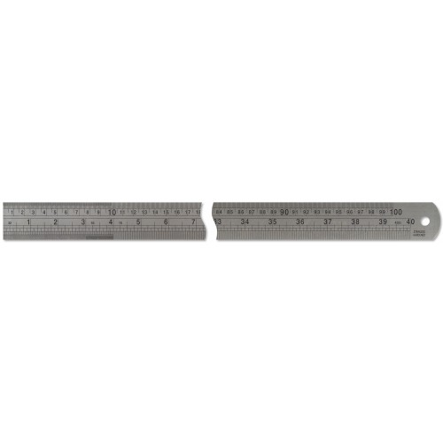 "I Metre /  40"" Stainless Steel Ruler"