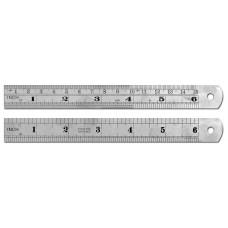 """6"""" / 15cm Stainless Steel Ruler"""