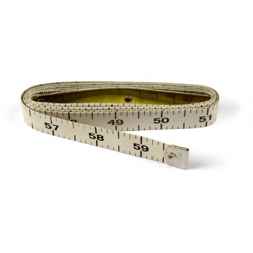 "150cm / 60"" Tailors measure Tape with One LONG End"