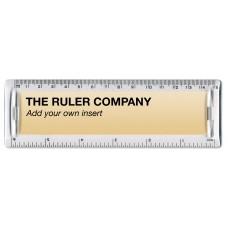 """6"""" / 15cm Clear Plastic Insert Ruler"""