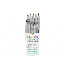 Mini Recycled Coloured Pencils - Pack 10