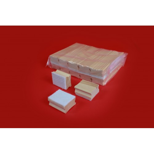 Mini Felt Board Cleaners- Pack 30