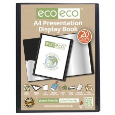 A4 Presentation Display Book - 20 Pocket