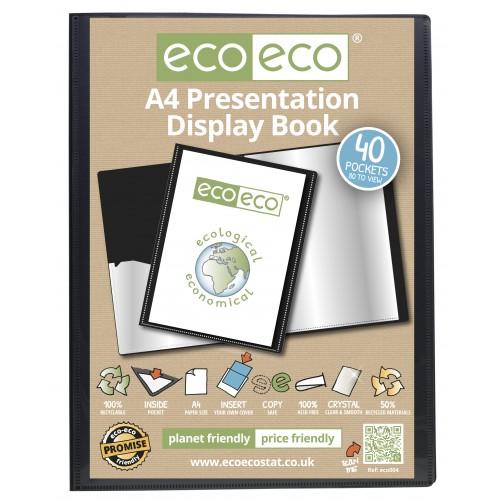 A4 Presentation Display Book- 40 Pocket