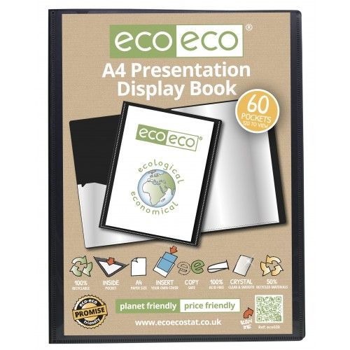 A4 Presentation Display Book - 60 Pocket