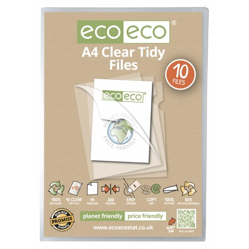 A4 Tidy File - Pack  10
